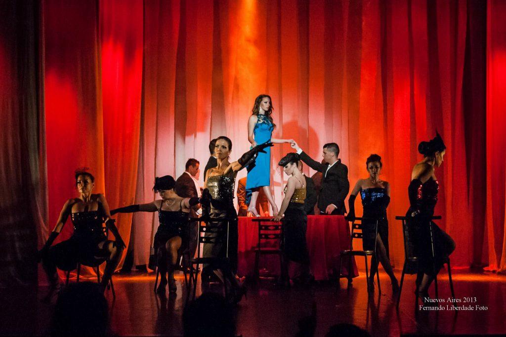 Espectáculo de dança, tango, Porto