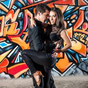 Professora de Tango da Escola e Companhia de Dança Ritmo Azul