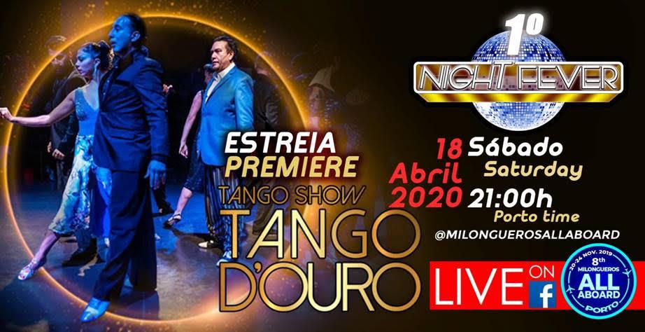 Imagens inéditas do espectáculo Tango D'Ouro 2019 - Milongueros All Aboard