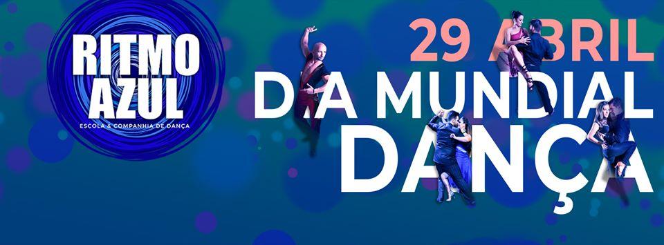 Dia Mundial da Dança - Ritmo Azul - escola e produções de danças