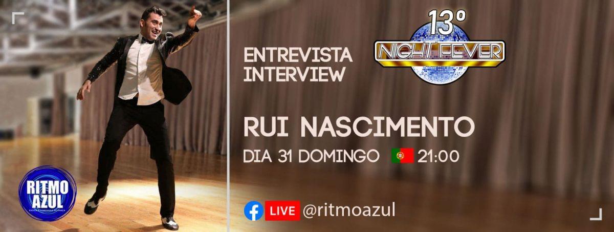 Ritmo Azul entrevista Rui Nascimento, professor, bailarino e fundador do Salsando
