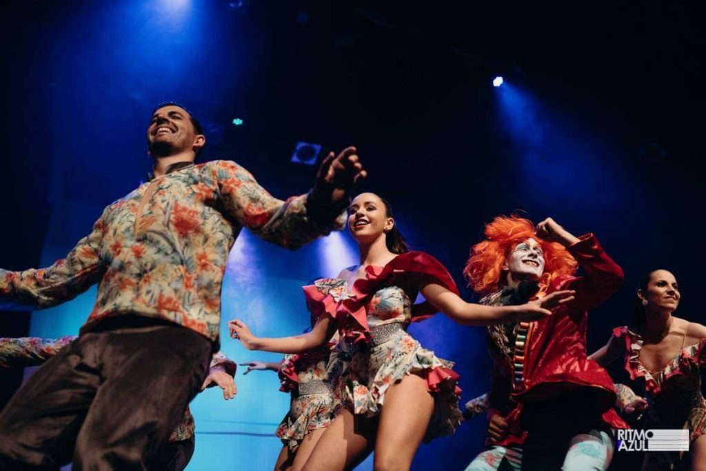 dançarinos salsa da escola de dança no Porto Ritmo Azul