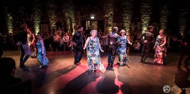 grupo de dança sénior - escola de dança Ritmo Azul