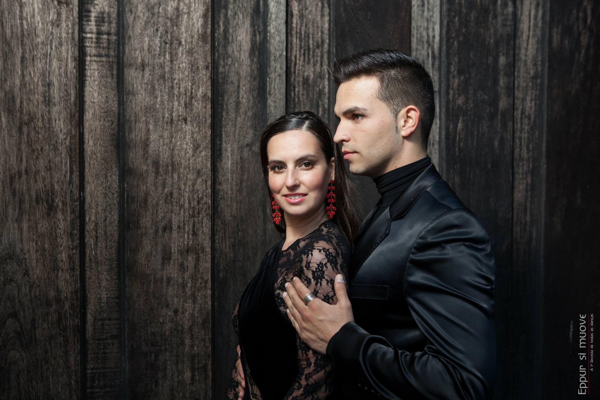 bailarinos e professores de dança Isabel Costa e Nelson Pinto