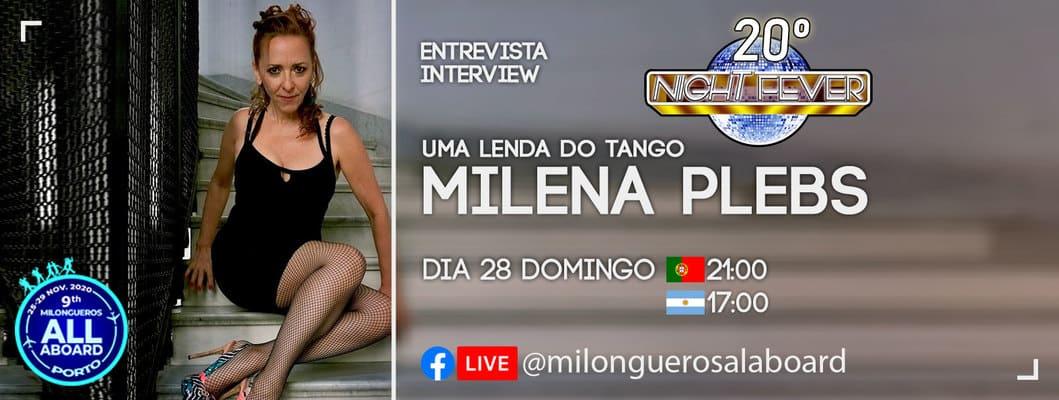 entrevista do Ritmo Azul com a bailarina de tango Milena Plebs