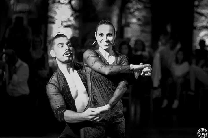 dançarino de kizomba da escola de dança do Porto - Ritmo Azul