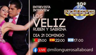 entrevista com os bailarinos de tango argentino Los Veliz