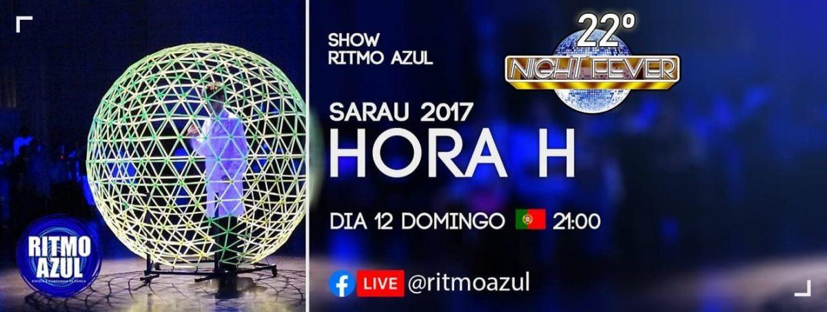 show de dança latina e tango da escola de dança Ritmo Azul - Porto