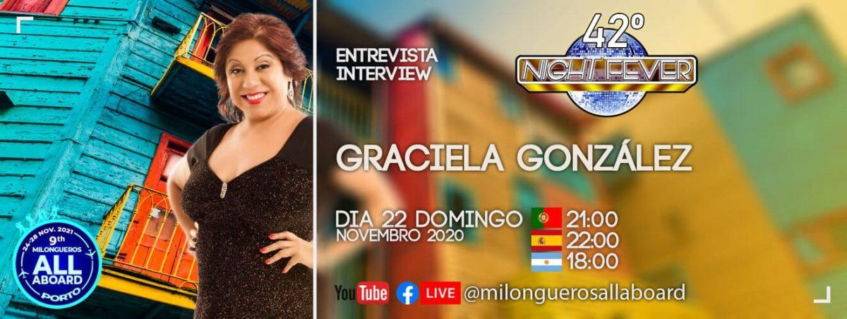 entrevista a Graciela Gonzalez - la leona del tango