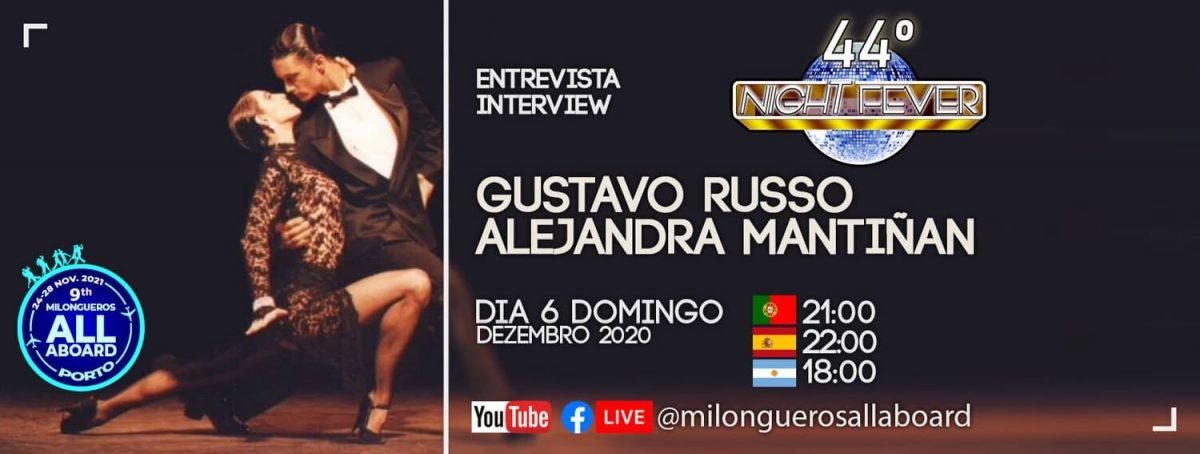 Gustavo Russo e Alejandra Mantiñan