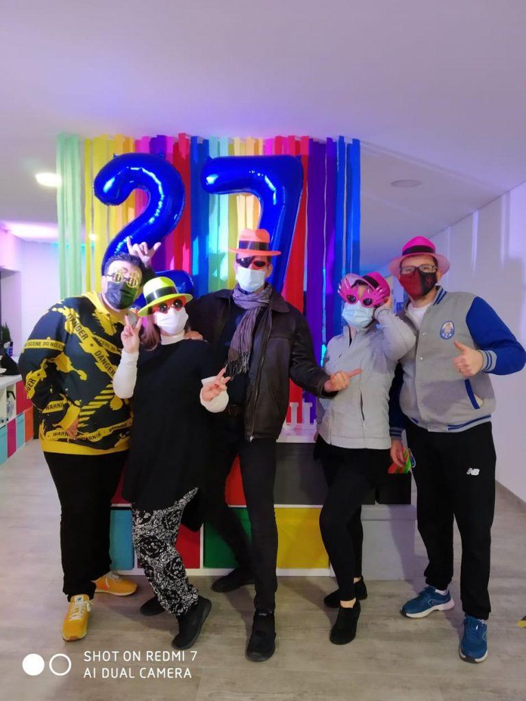 Ritmo Azul - escola de dança - 27 anos de muita dança