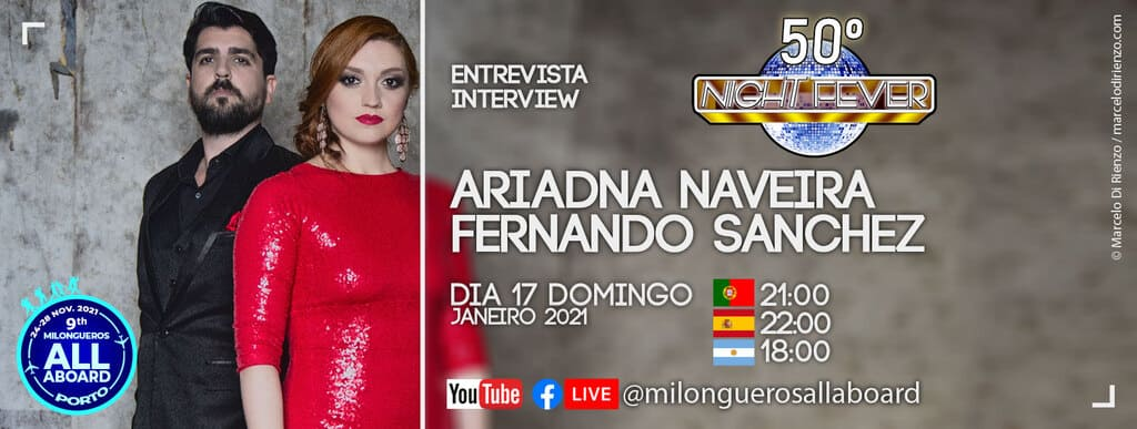 entrevista a Ariadna-Naveira-Fernando-Sanchez pelos bailarinos de tango portugueses Isabel Costa e Nelson Pinto