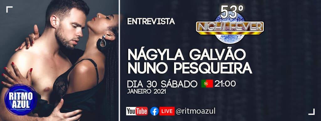 Ritmo Azul - escola de dança entrevista Nuno Pesqueira e Nagyla Galvão, bailarinos de salsa e Kizomba