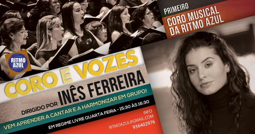 aprender a cantar e aulas de coro, cantar em grupo na Escola de Dança Ritmo Azul - Vila Nova de Gaia