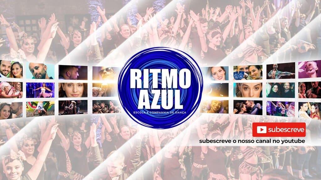 canal de youtube da escola de dança de tango, salsa, bachata, valsa, dança de salao - Ritmo Azul em Vila Nova de Gaia