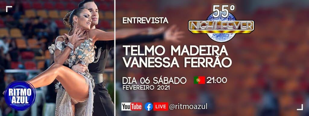 entrevista aos bailarinos de Dança Desportiva Telmo Madeira e Vanessa Ferrão pela escola de dança Ritmo Azul