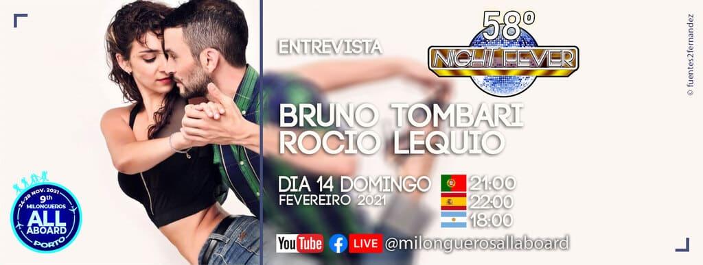Ritmo Azul entrevista entrevista a Bruno Tombari e Rocio Lequio