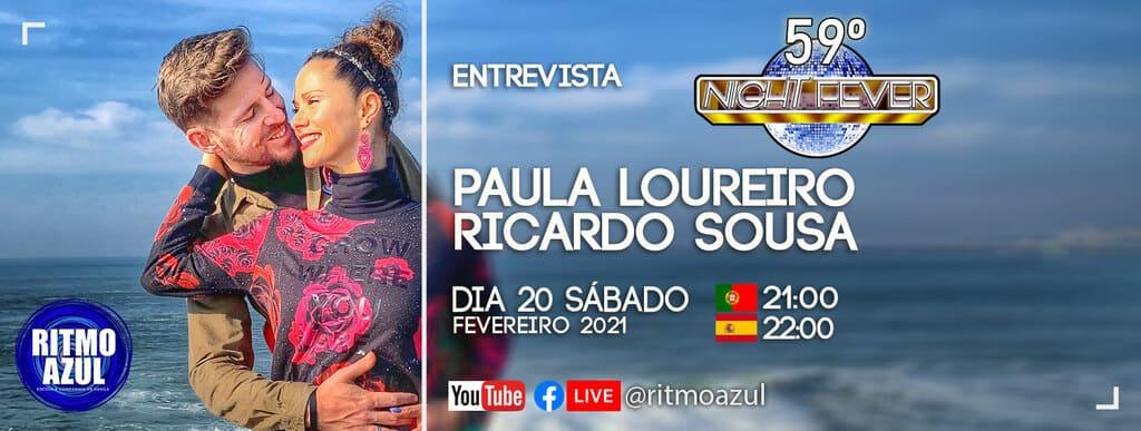 a escola de Dança Ritmo Azul entrevista Ricardo Sousa e Paula Loureiro da escola Afro Latin Connection