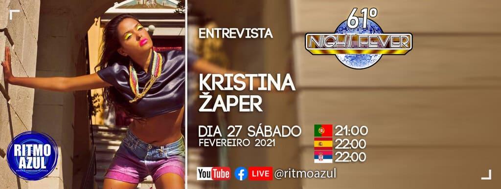 Ritmo Azul entrevista a bailarina de salsa e bachata Kristina Zaper