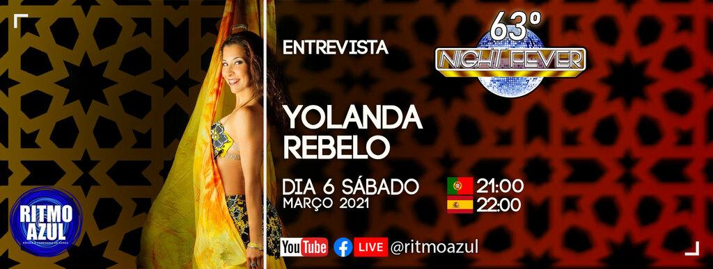 Ritmo Azul entrevista a bailarina de dança do ventre Yolanda Rebelo