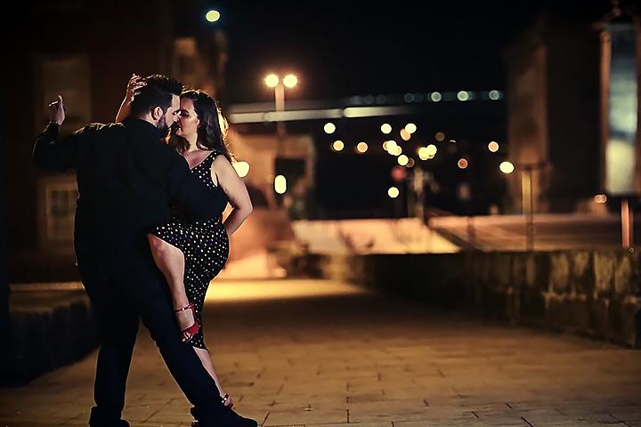 Dois bailarinos de Tango, Isabel Costa Nelson Pinto