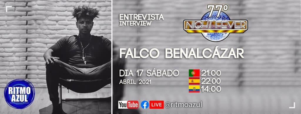 Falco Benalcázar é entrevistado pela escola de dança Ritmo Azul
