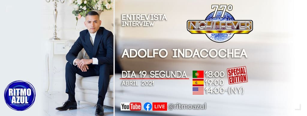 Adolfo Indacochea bailarino de salsa é entrevistado pela escola de dança Ritmo Azul