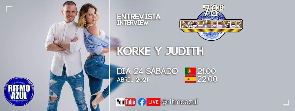 Korke e Judith bailarinos de bachata sensual são entrevistados pela escola de dança Ritmo Azul